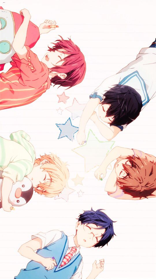 Free Iwatobi Swin Club Iphone Background  E C A