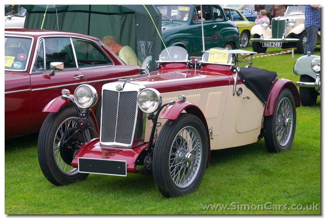 Mg F1 Magna 1932 With Images Classic Sports Cars Vintage