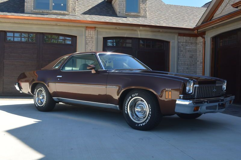 1973 Chevelle Malibu My First Car Chocolate Brown With Brown Vinyl Top 1973 Chevelle Chevy Malibu Chevelle