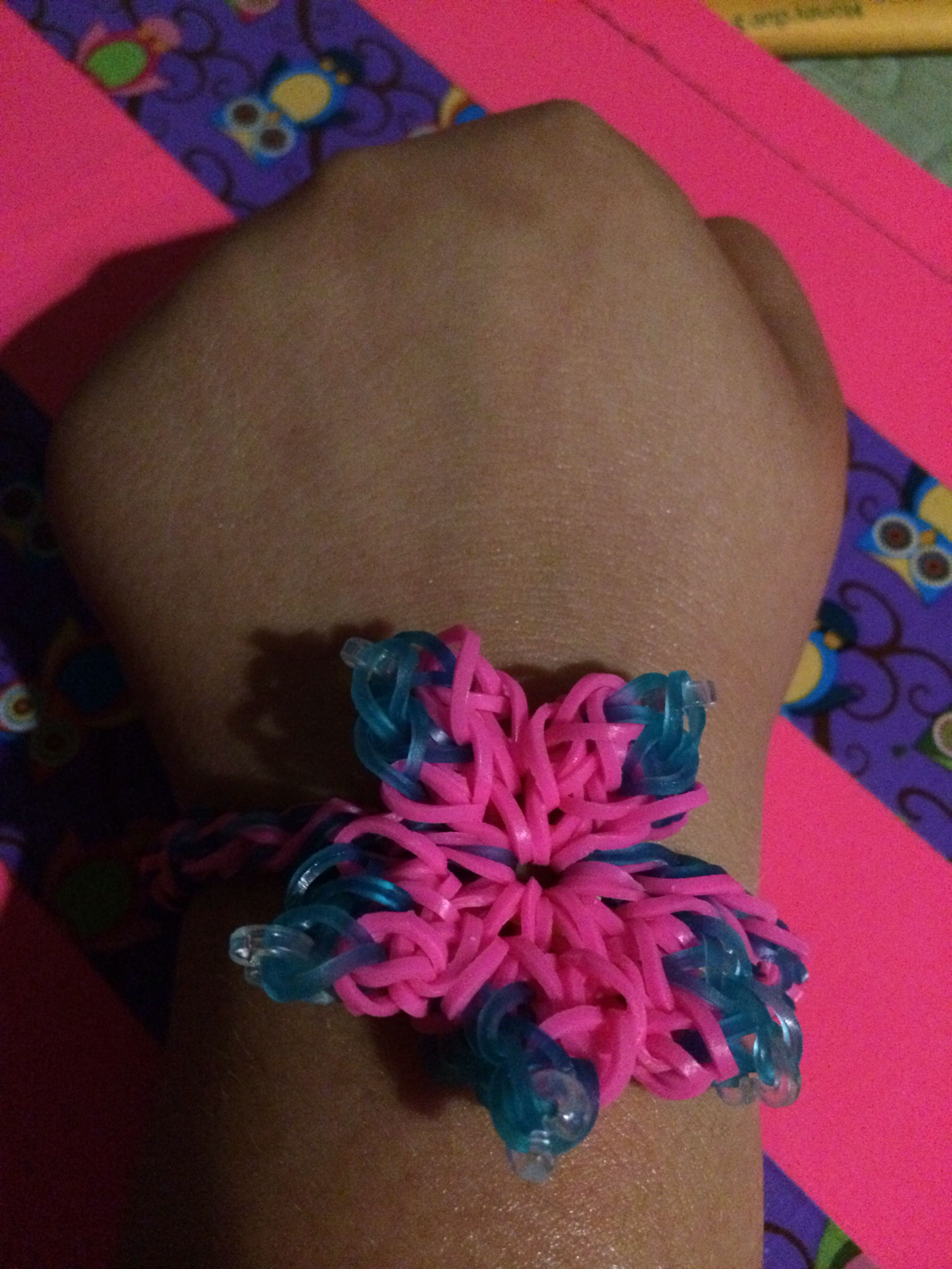 diy view bracelet tire hibiscus in rainbow gallery tutorial wonderful bracelets track colorful loom