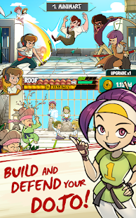 Kung Fu Clicker Idle Dojo + (Mod Money) For Android Cơm