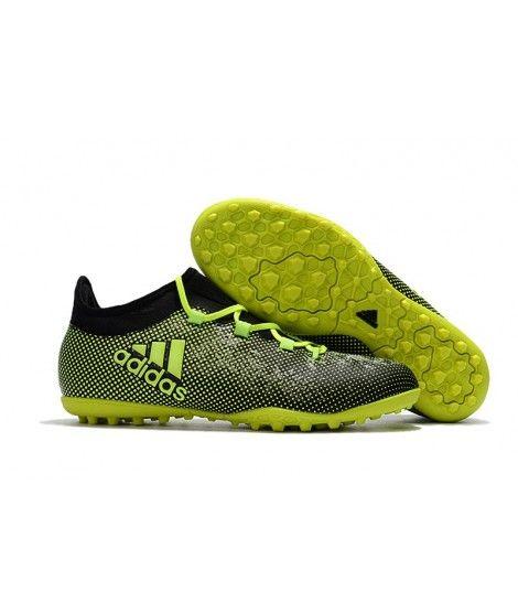 4937808e3 Adidas X 17.1 TF NA UMĚLÝ POVRCH zelená černá kopačky   Adidas X ...