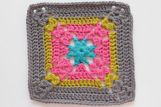 Crochet Wisteria Flower Pattern : 26/365 - Wisteria by craftyminx, Granny Square Granny ...