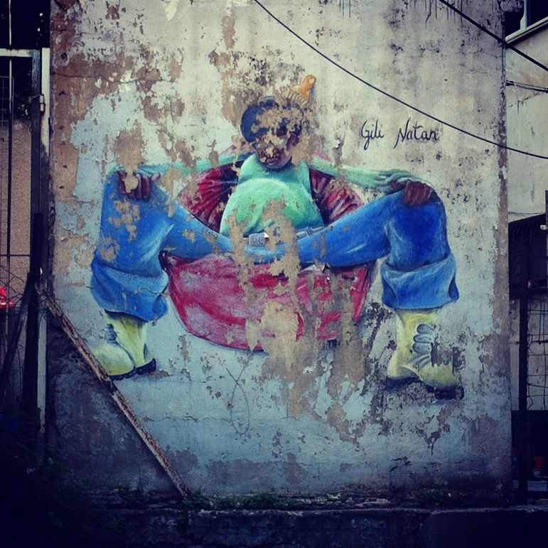 Tel Aviv - old #streetart. 000