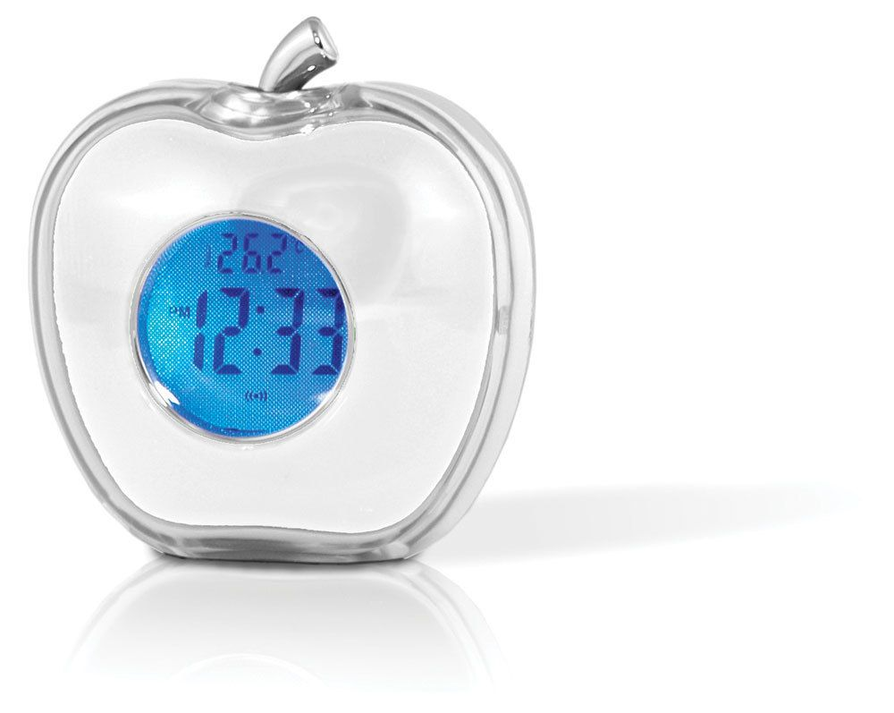 Talking Apple Alarm Clock From Brightminds With Images Alarm Clock Clock Stem Toys
