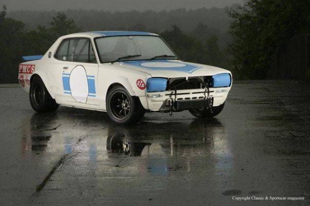 KPGC10 Skyline GT-R, aka Hakosuka.