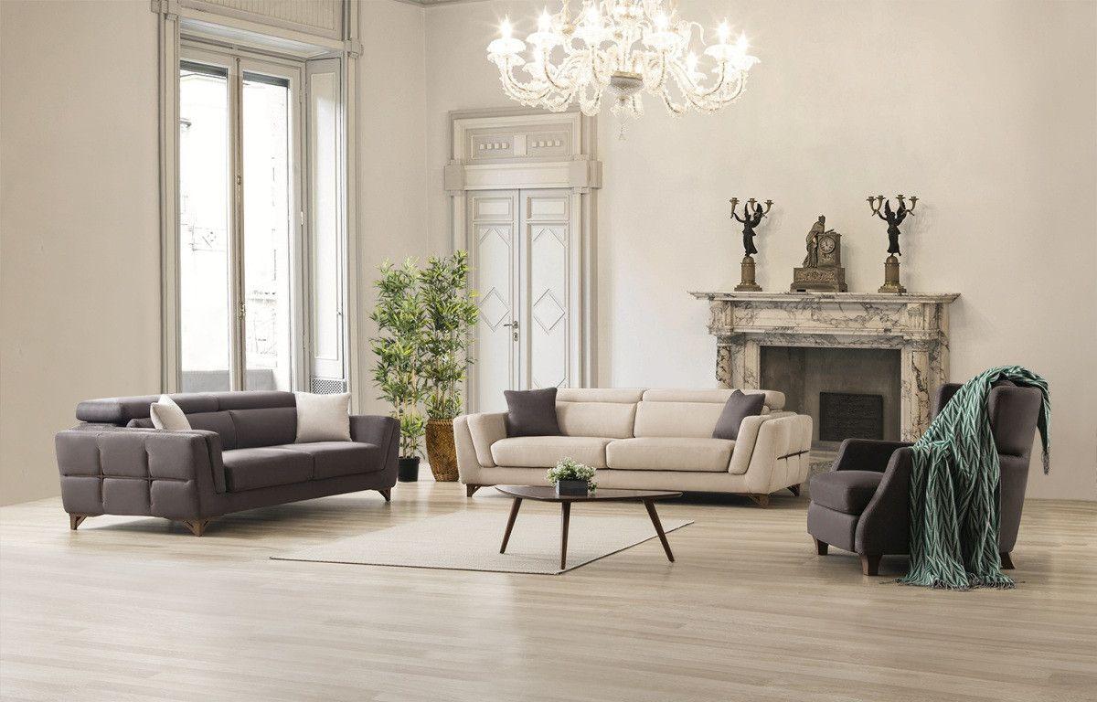 Elegante Polstergarnitur Rostock 3er Und 1er Mit Relaxfunktion Sofa Set Home Decor Furniture