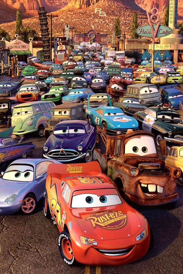 Pin on rt 66 and cars - Disney cars wallpaper ...
