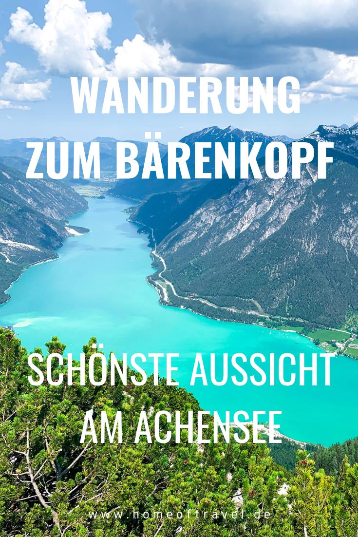 Photo of Traumhafte Wanderung zum Bärenkopf (1.991 m) am Achensee – #Achensee #Bärenkop…