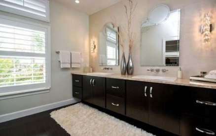 best bathroom dark floor wood vanities 63+ ideas   wood