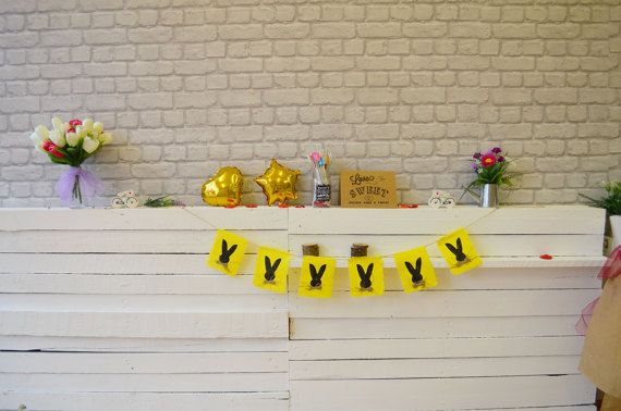 Easter Bunting Easter Bunny Easter Garland Home by OutOfMyBubble