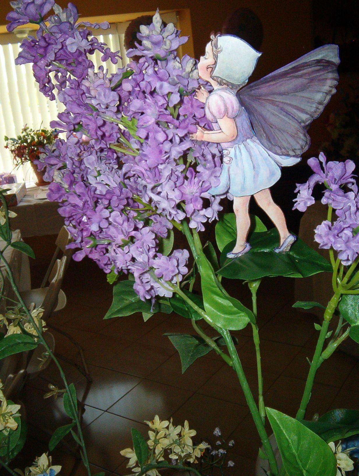Tippy toe on a leaf!! I love flower fairies!!!