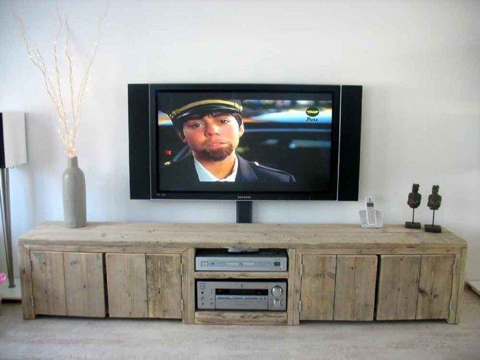 Tv Kast Steigerhout : Tv meubel maken makkelijk of moeilijk hobby bouwtekening