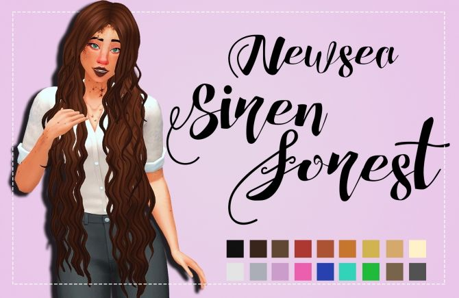 Hallowsims (Newsea) Siren Forest Clayified by Weepingsimmer at SimsWorkshop via Sims 4 Updates