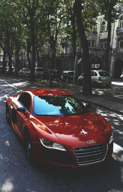 New Audi Cars Red R8 V10 Ideas #audir8
