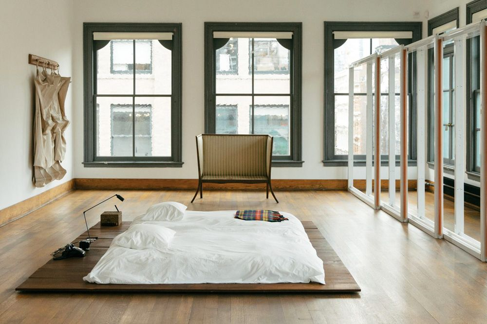 Donald Judd Judd Foundation Bed Bedroom Interiors Sunday