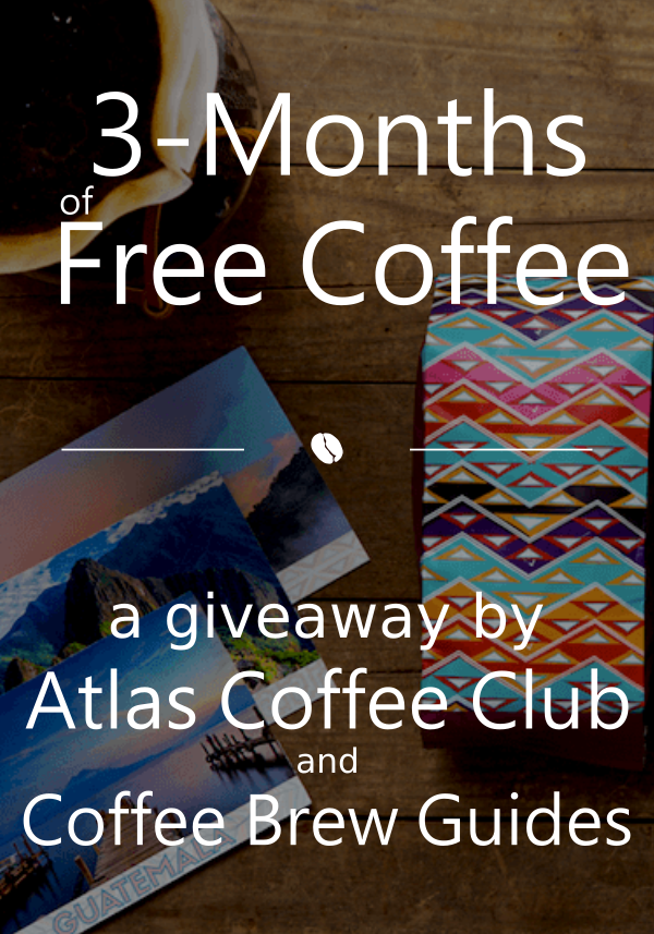 Win 3 Months of Coffee from Atlas Coffee Club