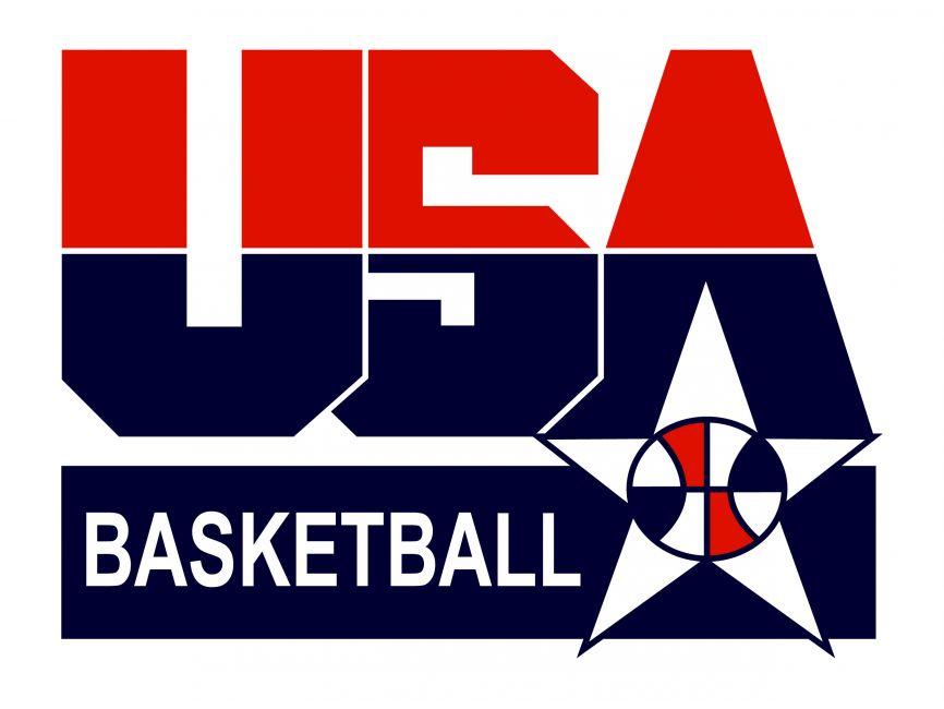 Usa Basketball Vector Logo 2020