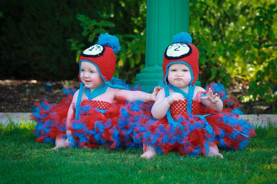 Dr Seuss Inspired Seussical Cat in the Hat Thing 1 and Thing 2 Halloween Costumes or  sc 1 st  Pinterest & Dr Seuss Inspired Seussical Cat in the Hat Thing 1 and Thing 2 ...