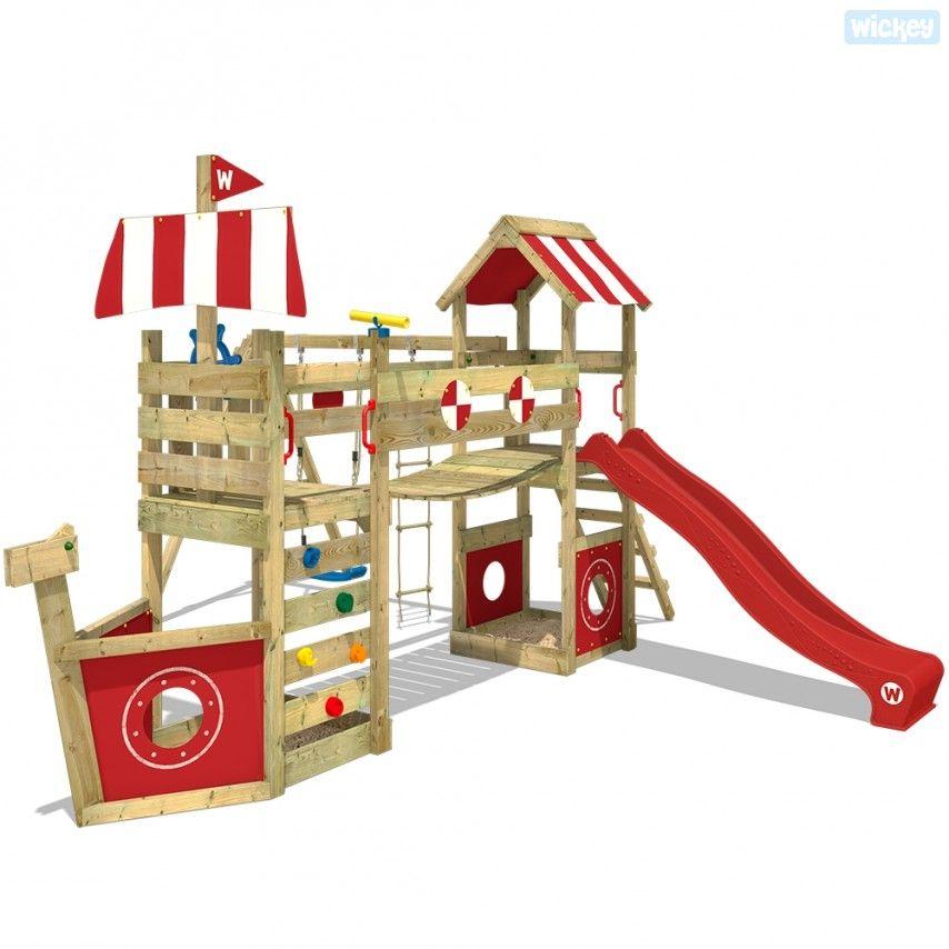 Spielturm Mit Rutsche Stormflyer Kletterturm Mit Bildern Kinder Klettergerust Spielturm Spielturm Mit Rutsche