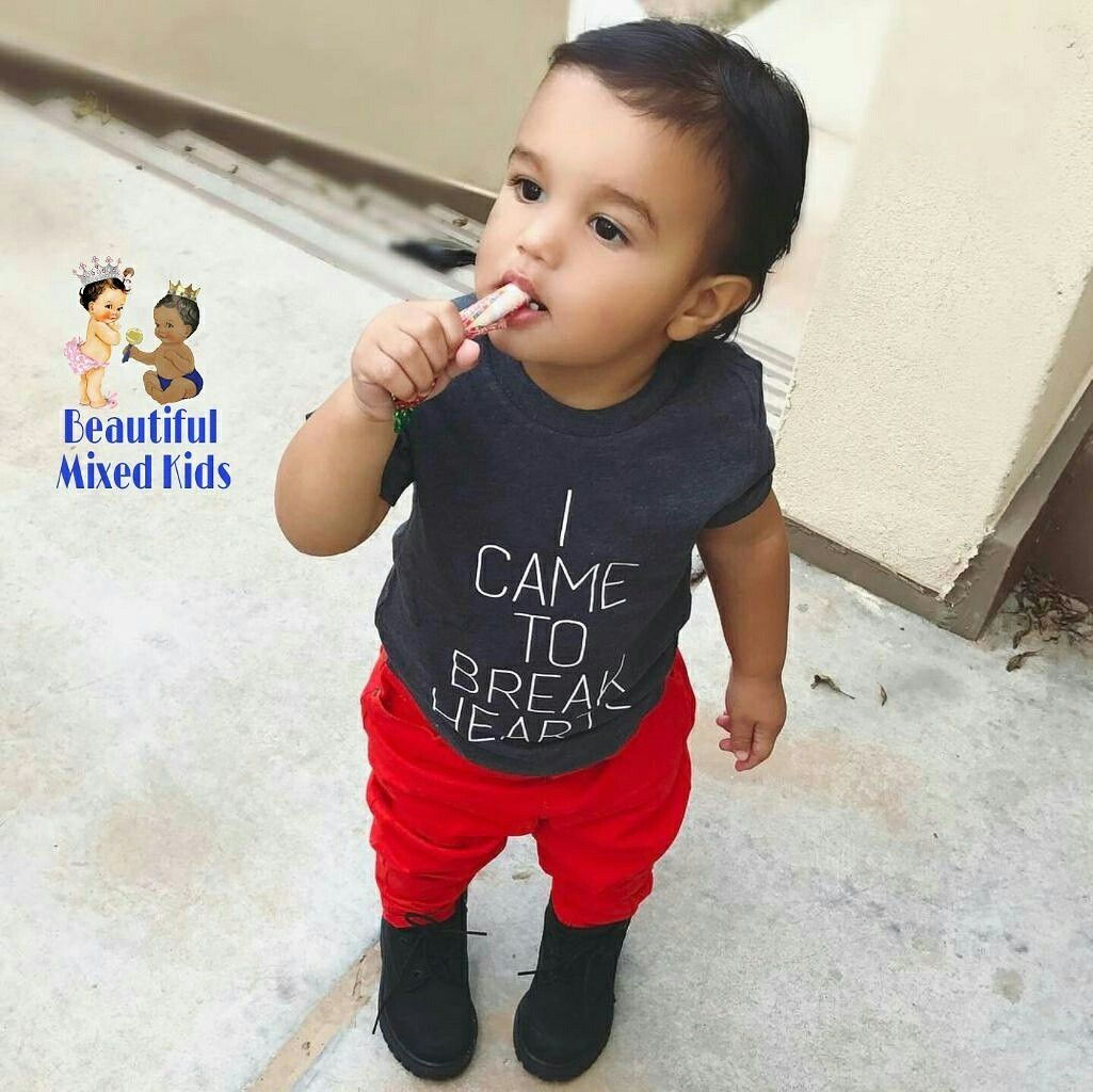 Montez 15 Months Italian Puerto Rican African American