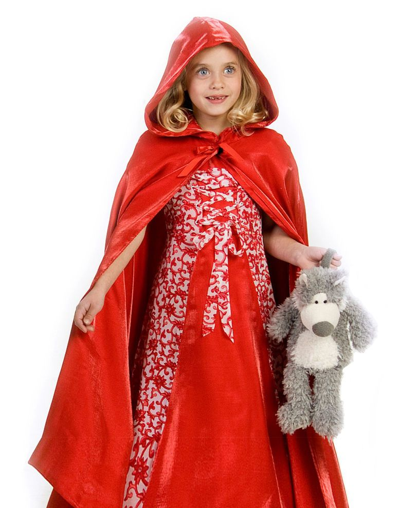 Kids Little Red Riding Hood Outfit Girls Halloween Costume - halloween ideas girls