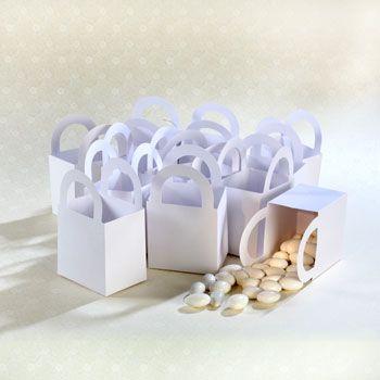 Bulk White Wedding Favor Boxes 12 Ct Packs At DollarTree