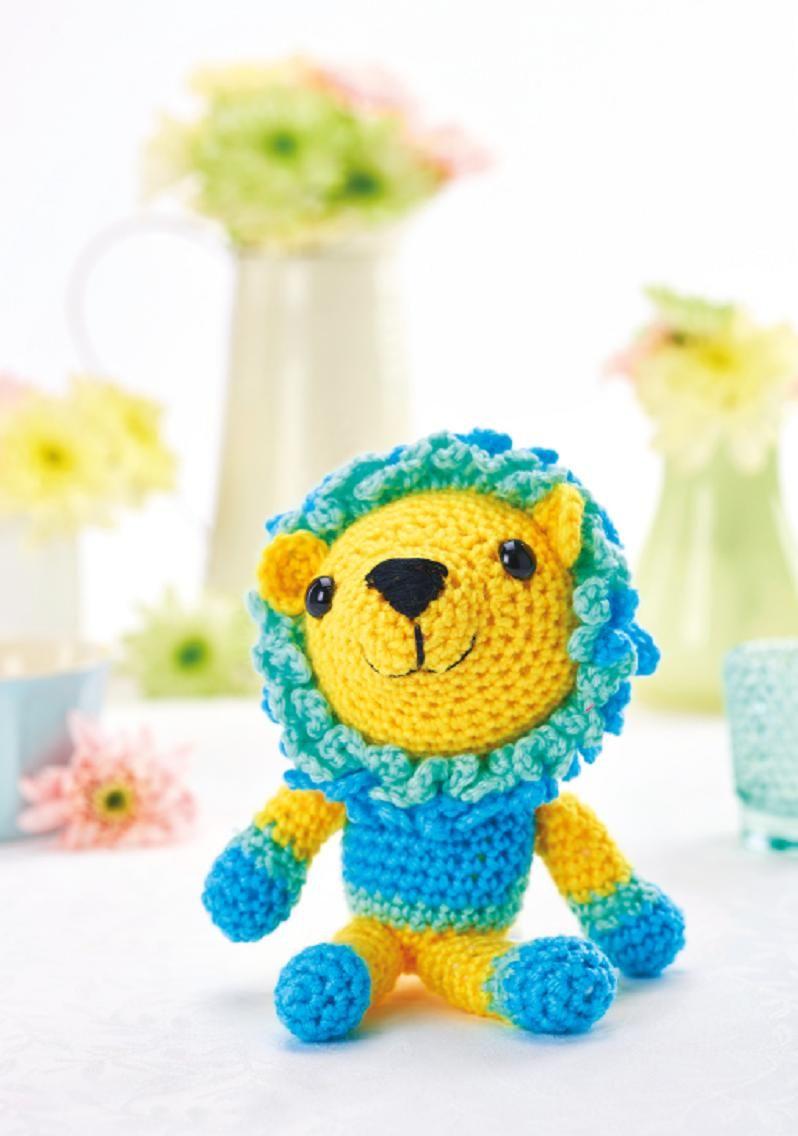Lion toy Crochet Pattern | Lion toys, Crochet lion ...