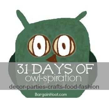Owl-spiration:: Everyday in October!