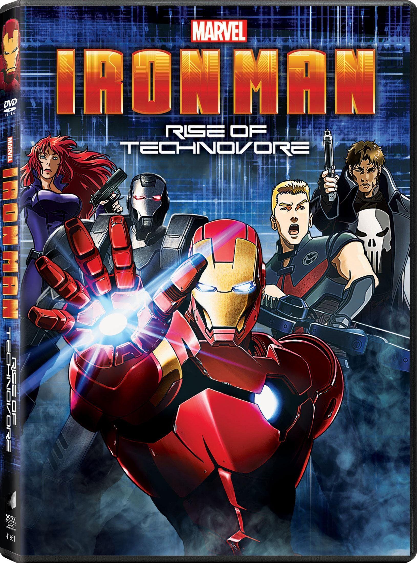 Marvel Iron Man Rise of The Technovore Iron man, Iron