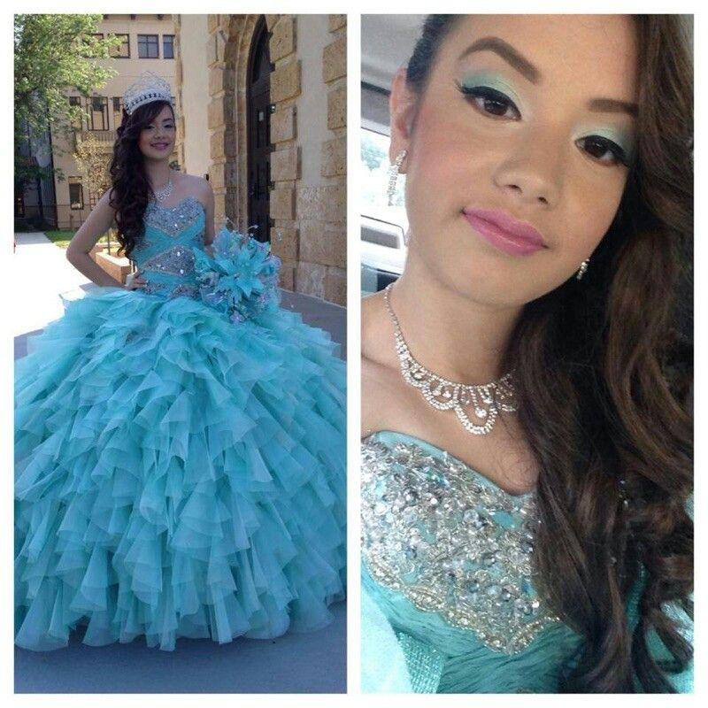 Aqua quince  dress,  love it!