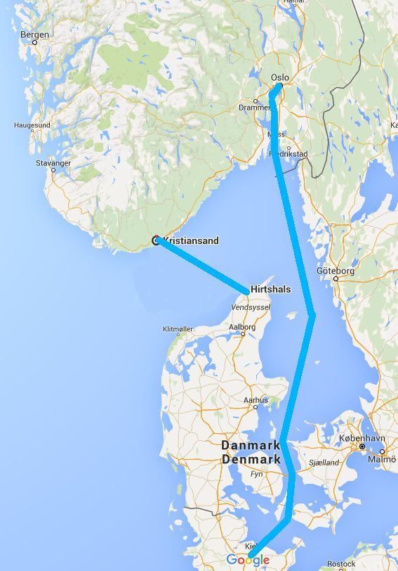 aarhus kart traversees ferry norvege | NORSE . k a r t | Pinterest aarhus kart