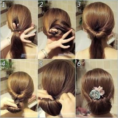 A Very Different And Cute Hairstyle Story On Roposo Com Simple Prom Hair Long Hair Ponytail Victorian Hairstyles