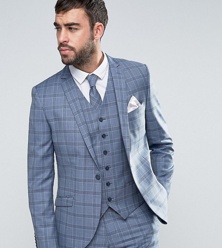 Collections For Sale Fashion Style Slim Waistcoat In Summer Wedding Check - Mint Heart & Dagger GGURqA2