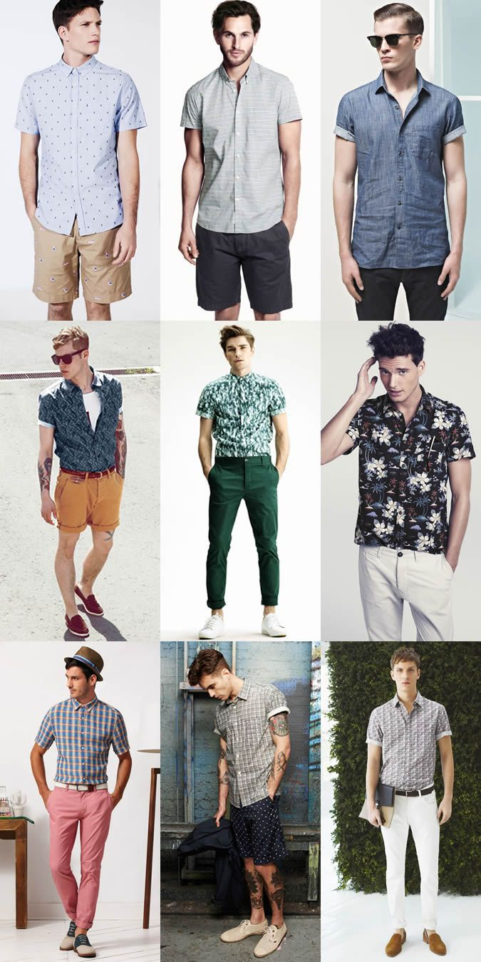 9b5c8347a Men's Short-Sleeve Shirt Lookbook | Men's Style | Fashion, Gents ...