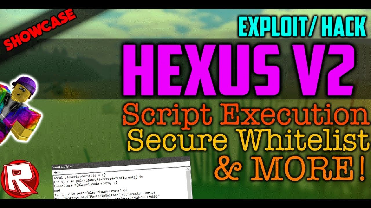 Showcase Roblox Exploit Hack Hexus V2 New Script Execution S