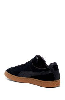 Puma menunisex Natural Suede Classic Warmth Sneaker Shoes BBSxUr