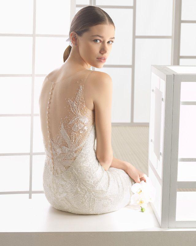 WILFRED - 2017 Bridal Collection. Rosa Clará Soft.   Das kleid ...