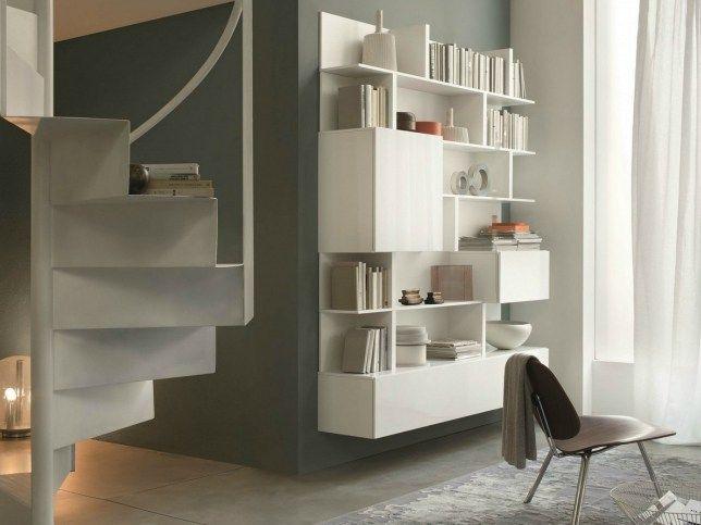 Bücherregal design wand  Wand- Anbau- Hänge- Bücherregal Kollektion T030 by Lema | Design ...