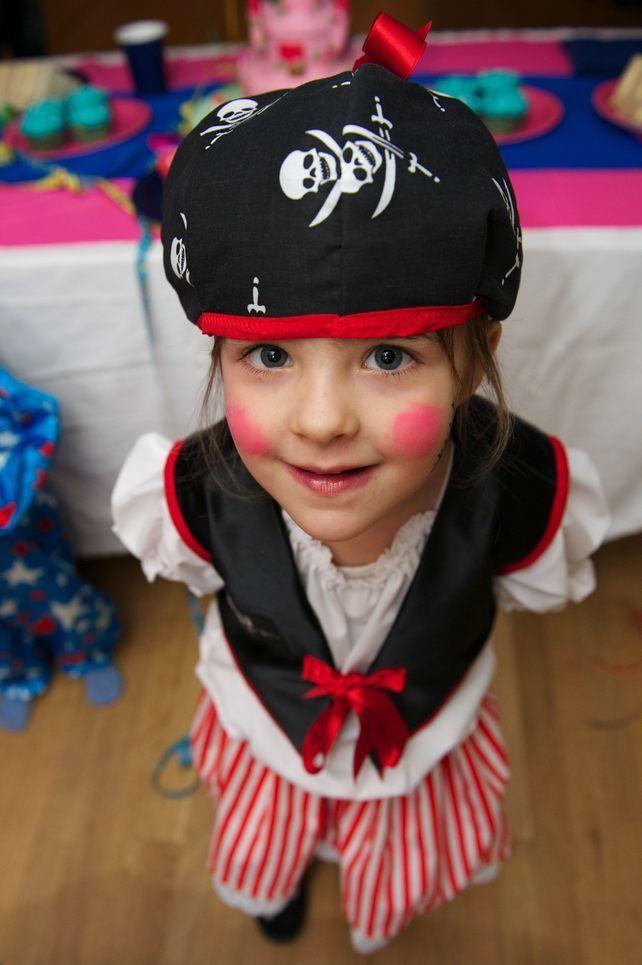 Pirate Girl - dressing upfancy dress costumerole play £75.00
