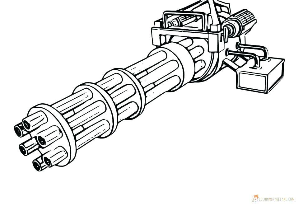 Épinglé sur Pistolet dessin