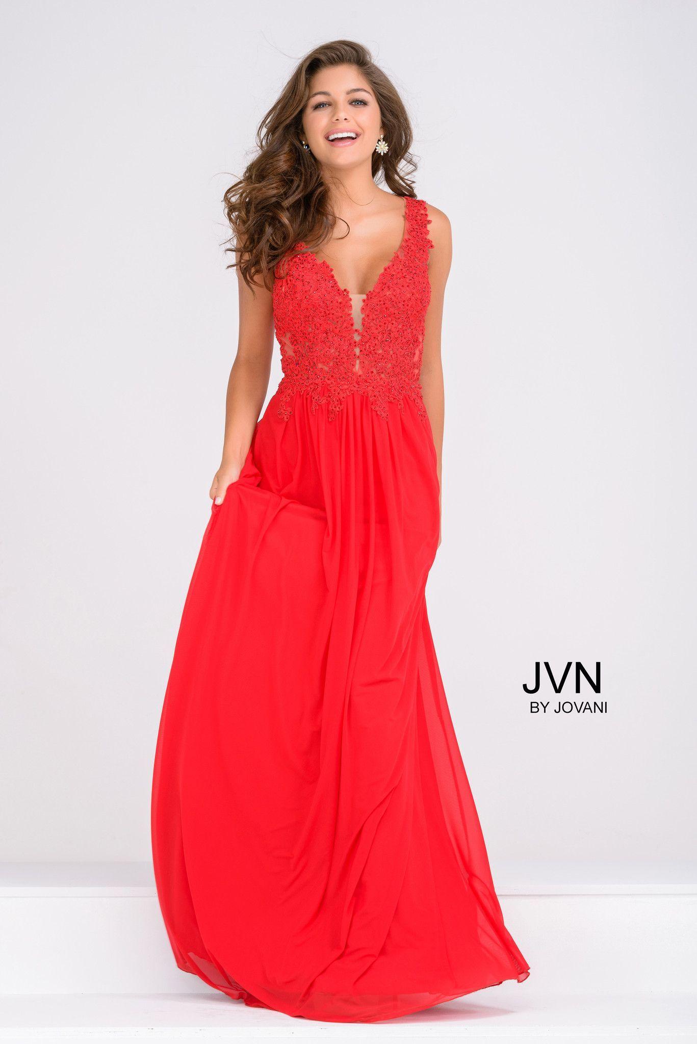JVN by Jovani prom dress style JVN41466