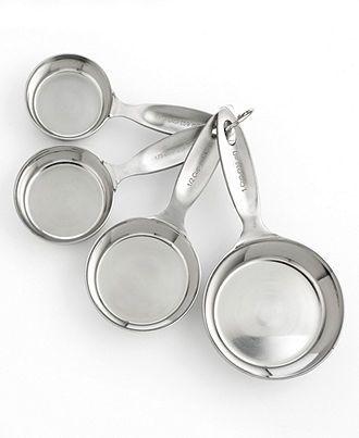 Martha Stewart Collection Measuring Cups - Kitchen Gadgets - Kitchen ...