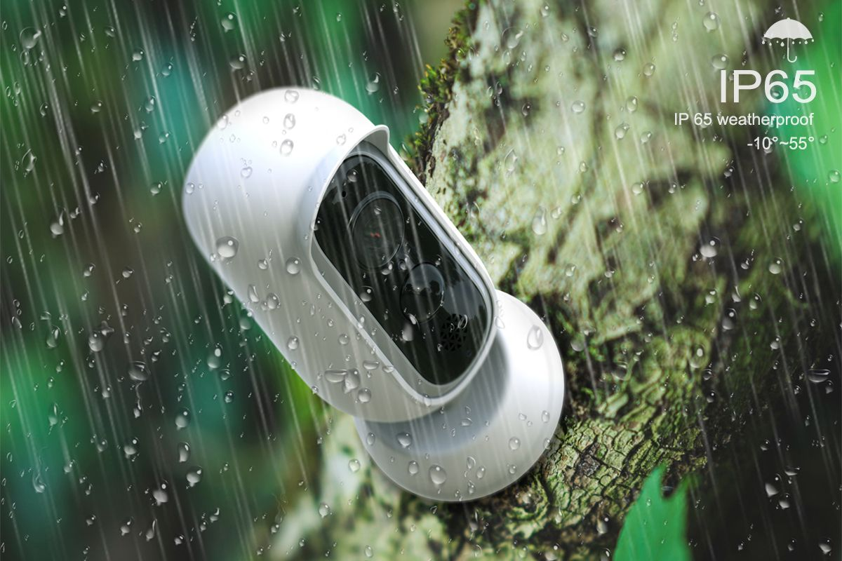 Camera De Surveillance Exterieur Nature Our Wansview 1080p Indoor Outdoor Wire Free Battery Powered
