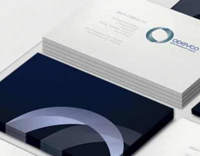 Corporate identity for a commercial real estate development company (Odevco.net).  The requirement for the logo was about the usage of O, D, & C for a logo, as they nest within each other.