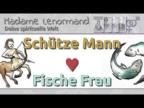 Schütze Mann & Fische Frau: Liebe und Partnerschaft