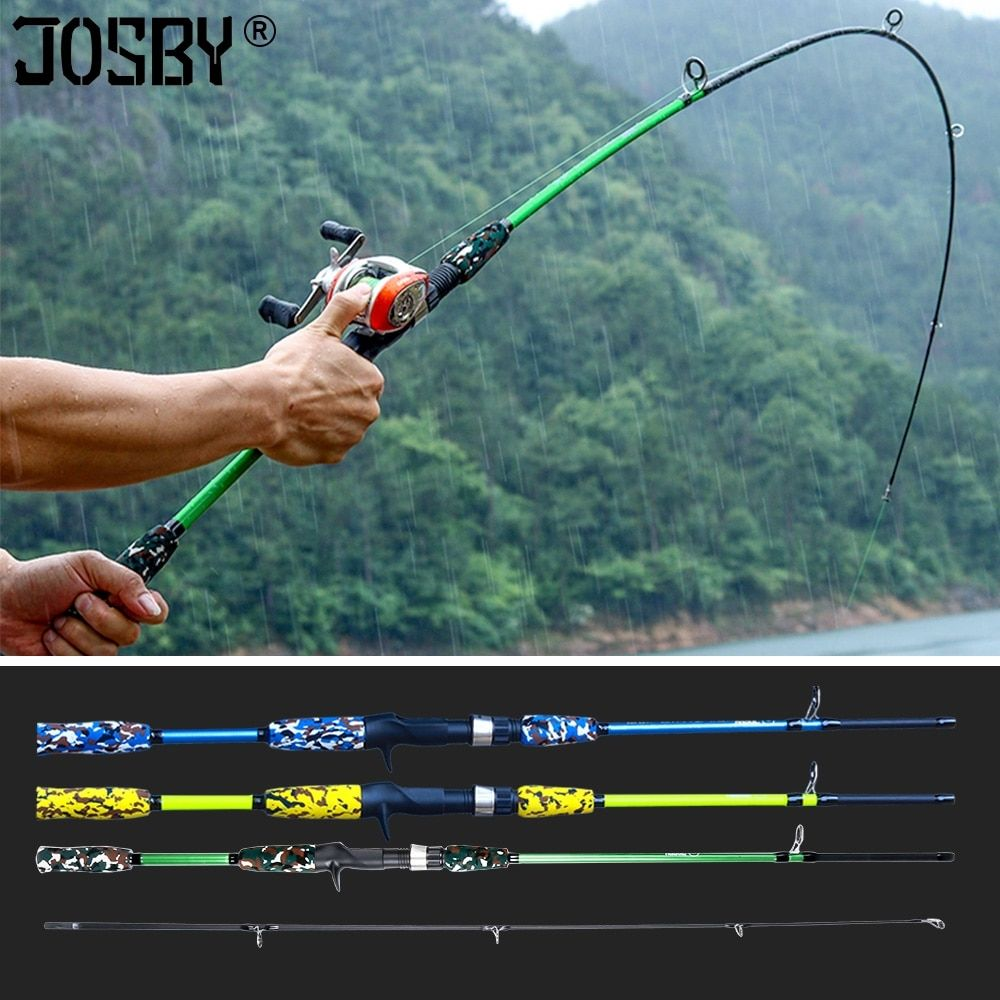 1.8m Trout Fishing Casting Spining Rod Carbon Travel Ultra Light Lure Weight
