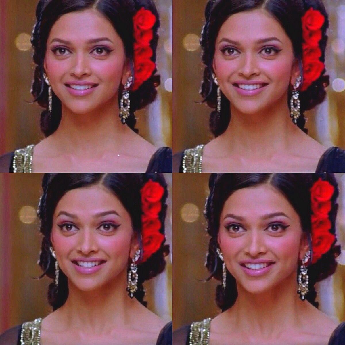 Deepika Padukone In Om Shanti Om Bollywood Female Actors Deepika Padukone College Beauty