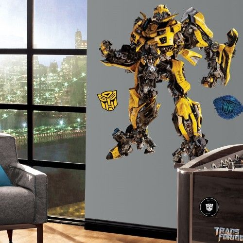 Transformers: Dark Of The Moon Bumblebee Giant Wall Decal