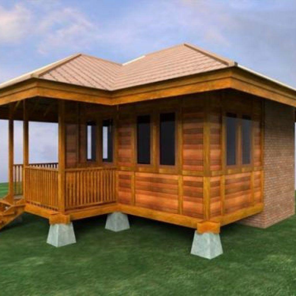 Mantap Inilah 10 Rumah Idaman Sederhana Di Desa Keren Terbaru Desain Rumah Bungalow Eksterior Rumah Rumah Kayu